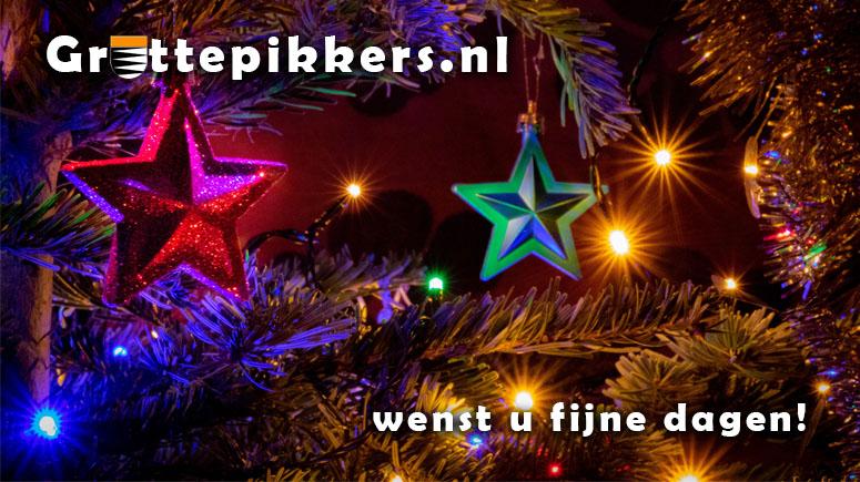 Gruttepikkers.nl wenst u fijne dagen