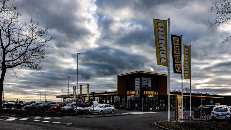 Entree winkelcentrum De Stolp