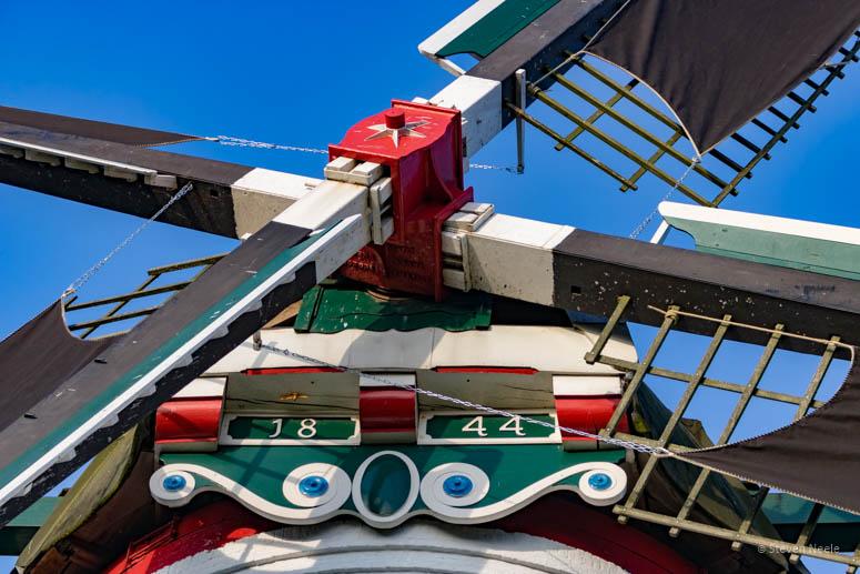 Detail molen Nieuwerkerk