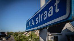Straatnaambord U.N.A.straat