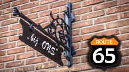 Route 65 bij dorpshuis 'bij ONS'