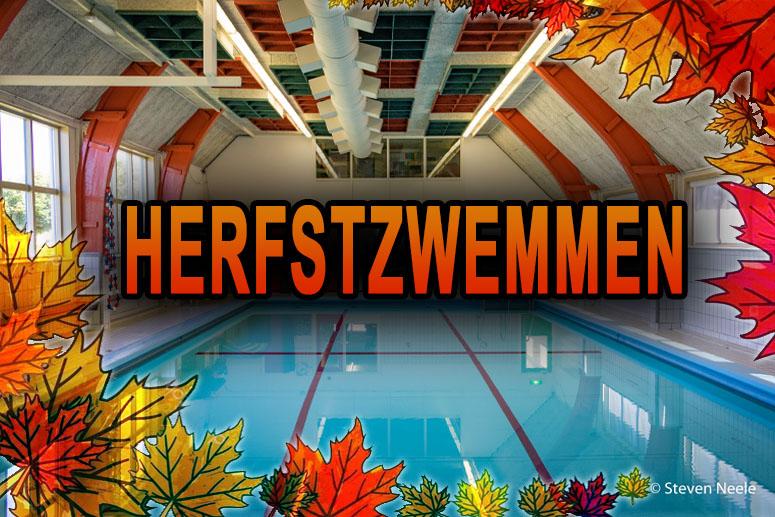 Herfstzwemmen zwembad Dol~Fijn