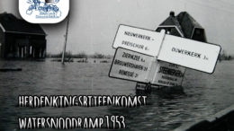 Herdenkingsbijeenkomst Watersnoodramp 1953