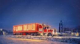 Postcodeloterij vrachtauto in Nieuwerkerk