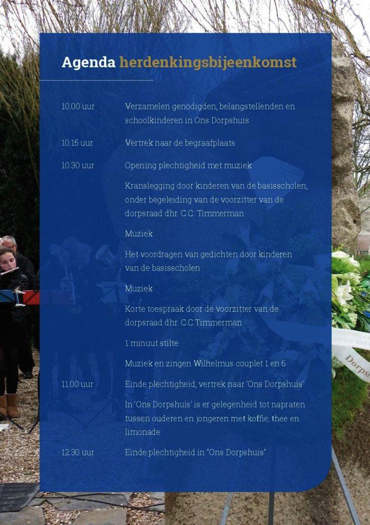 Uitnodiging herdenking watersnoodramp - pagina 3